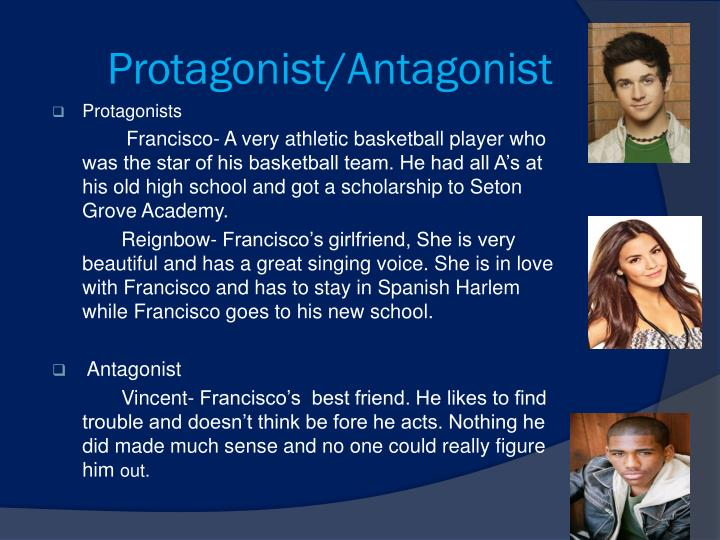 protagonist and antagonist essays Read protagonist essays and research papers view and download complete sample protagonist essays, instructions, works cited pages, and more get unlimited access to 100,000+ essays  he/she is the protagonist or antagonist, the type of character he/she is (main/minor,.