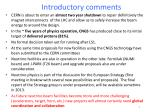 introductory comments1