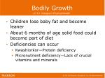 bodily growth