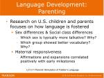 language development parenting