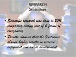 research xertrainer