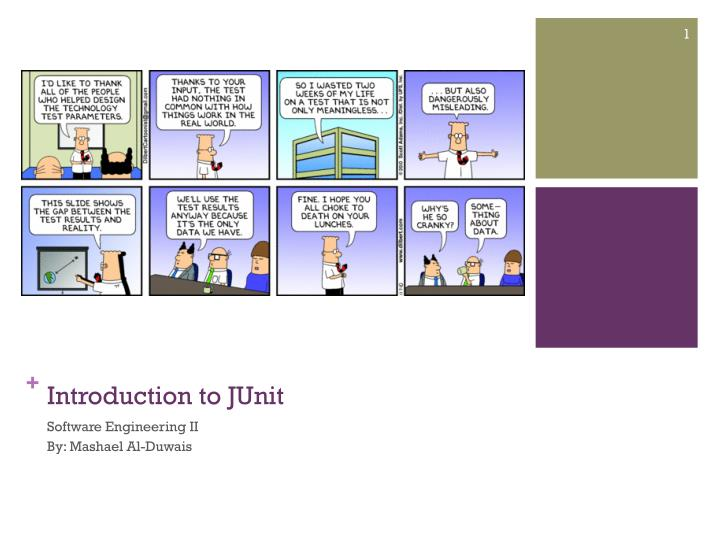 introduction to junit n.