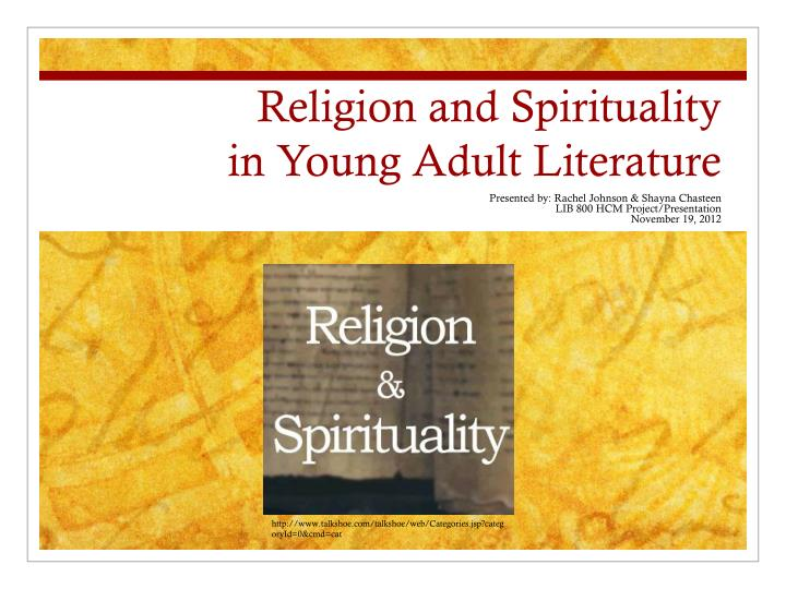 religion and spirituality in young adult literature n.