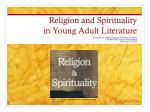 religion and spirituality in young adult literature