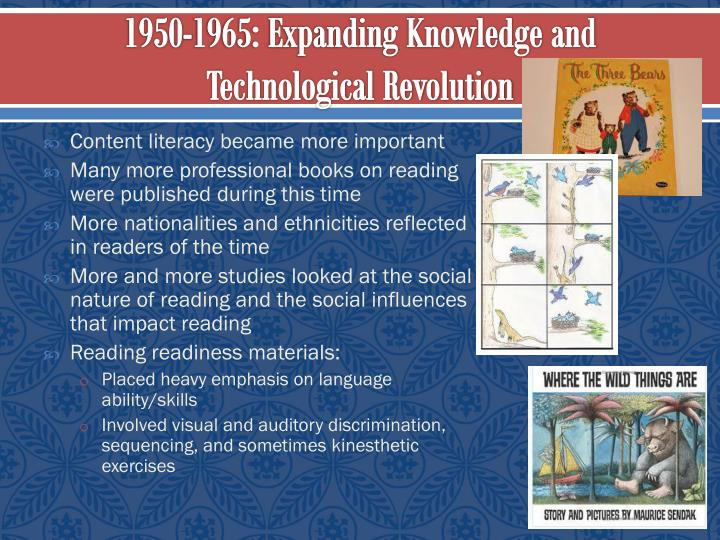 1950-1965: Expanding Knowledge and Technological Revolution