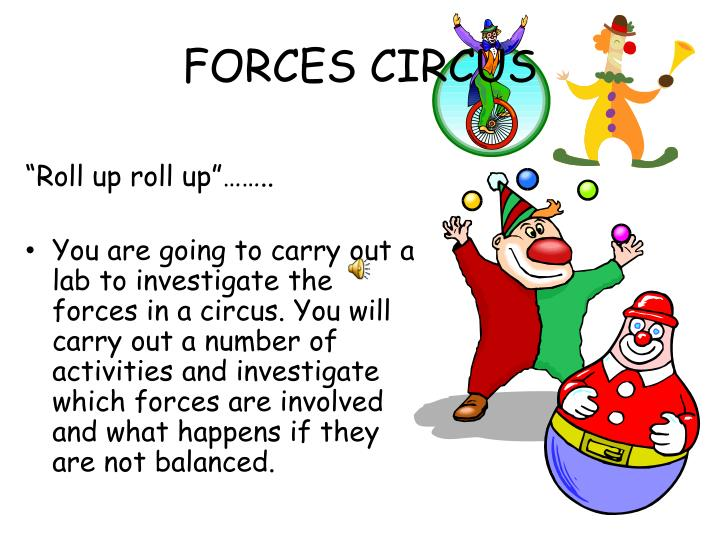 forces circus n.