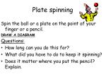 plate spinning