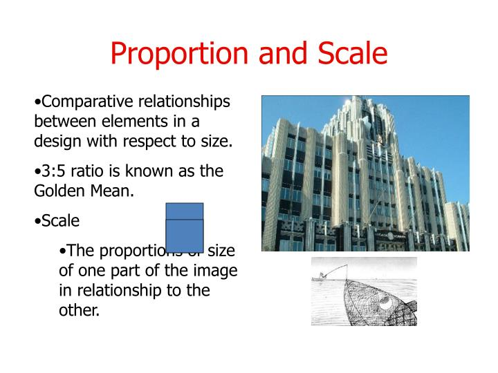 Proportion and Scale