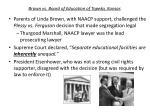 brown vs board of education of topeka kansas
