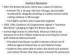 southern resistance