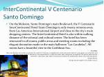 intercontinental v centenario santo domingo