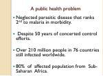a public health problem