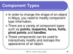 component types