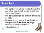 scale tool