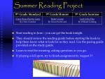 summer reading project1