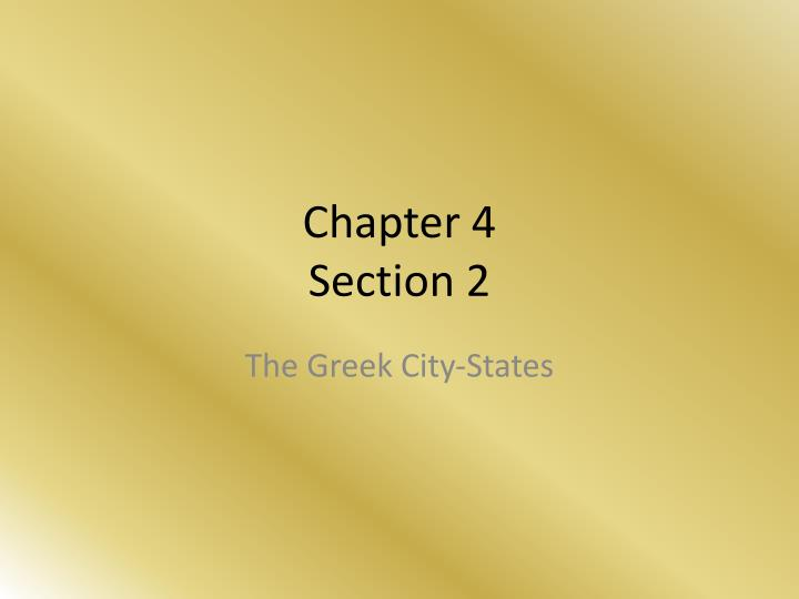 chapter 4 section 2 n.