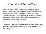 enormity of deccan traps