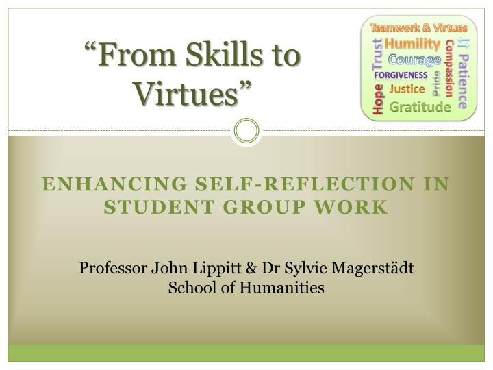 from skills to virtues n.