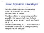series expansion advantages
