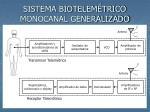 sistema biotelem trico monocanal generalizado