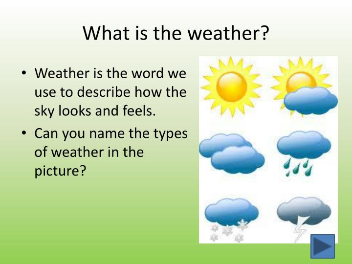 ppt - weather powerpoint presentation