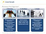 business first approach