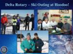 delta rotary ski outing at hoodoo