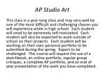 ap studio art