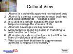 cultural view