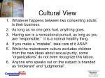 cultural view2