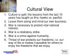 cultural view3