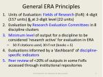 general era principles