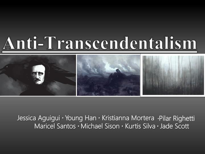 Anti-transcendentalism qualities of moby dick