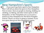 new hampshire s sports