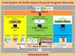 food systems health equity research program overview3