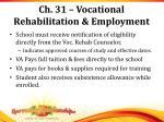 ch 31 vocational rehabilitation employment1