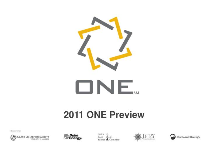 2011 one preview n.