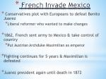 french invade mexico