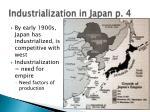 industrialization in japan p 4