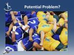 potential problem