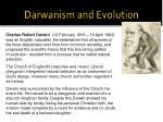 darwanism and evolution