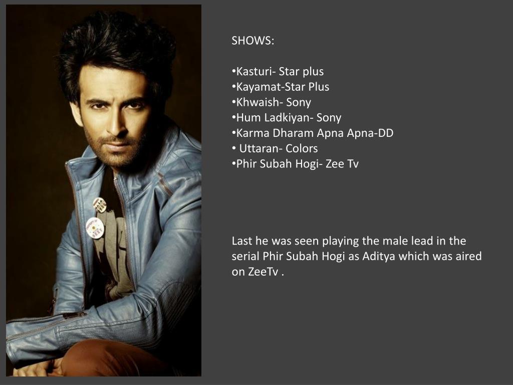 PPT - SHOWS: Kasturi - Star plus Kayamat -Star Plus Khwaish