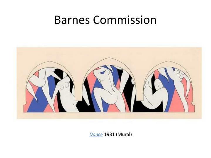 Barnes Commission