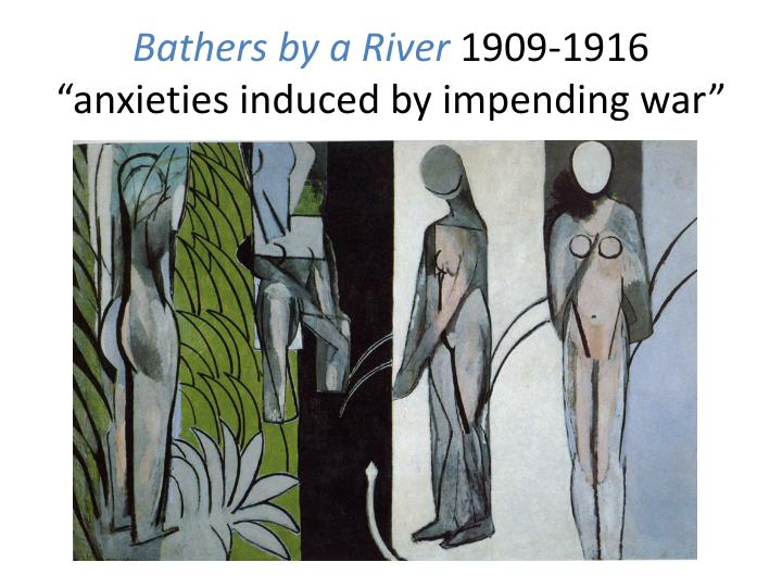 Bathers by a River