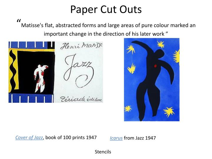 Paper Cut Outs