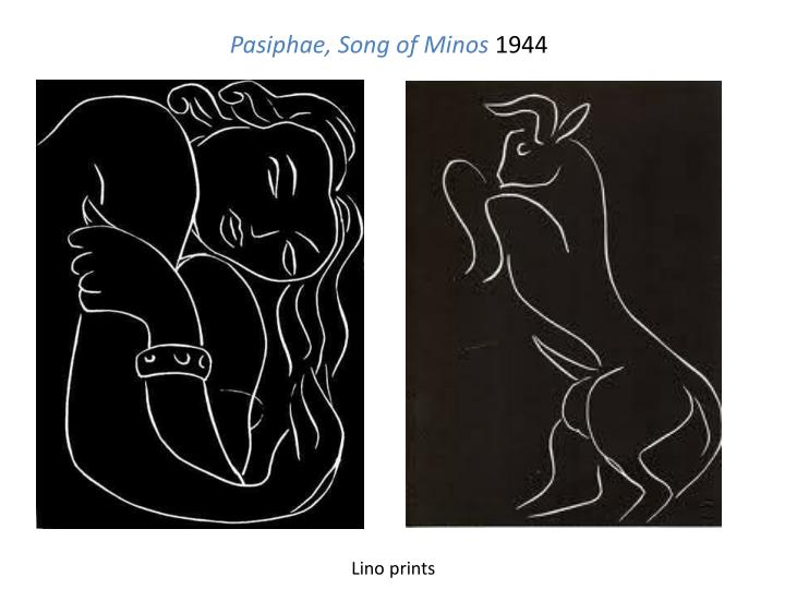 Pasiphae, Song of Minos