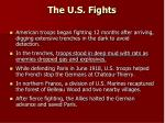 the u s fights