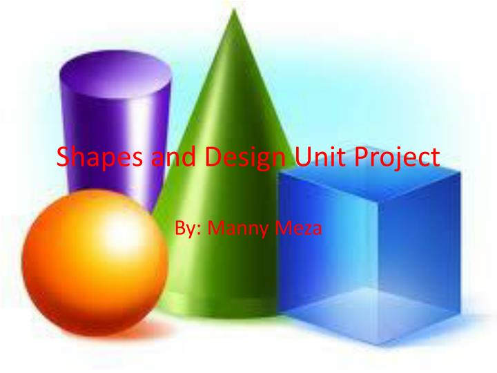 shapes and design unit project n.