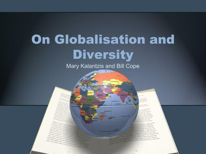 on globalisation and diversity n.