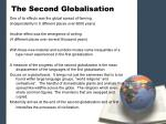 the second globalisation